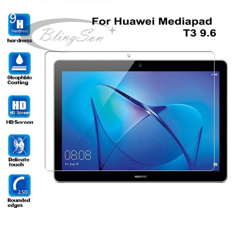 Закаленное стекло для huawei Media Pad T3 10 защитный экран для планшета 9,6
