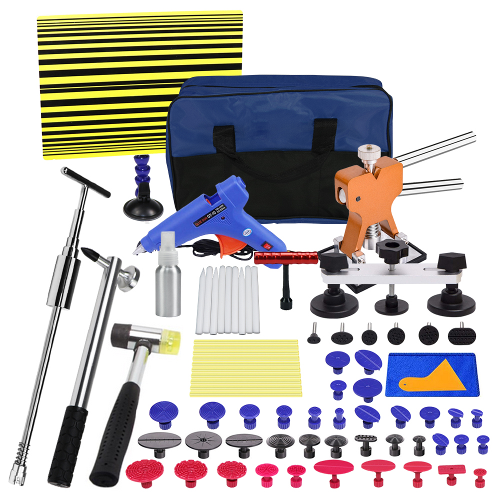 Tool Paintless Dent Repair Puller Lifter Tap Down Hail Removal Kit hand TOOLS