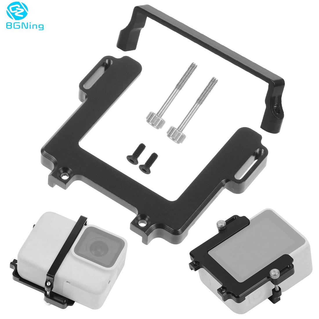 Handheld Stabilizer Switch Plate Adapter For Gopro Hero 8 7 For DJI Osmo Action For FY G6 WG2X Gimbal Ricca Camera Fixture Mount