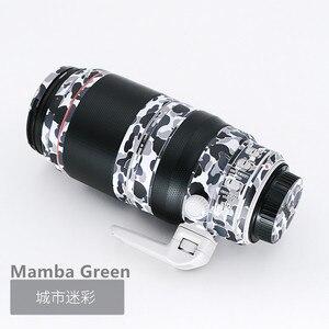 Image 5 - Objektiv Haut Aufkleber Aufkleber Anti scratch Protector Für Sony FE 70 200 2,8 GM Wrap Abdeckung Fall