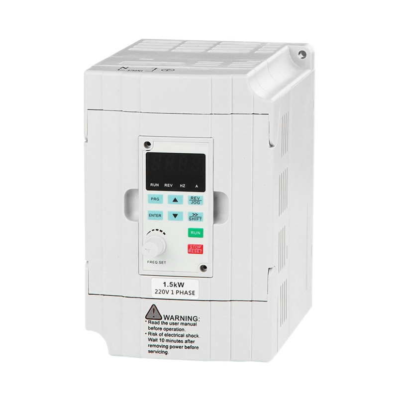 SVD-ES Series Single Phase VFD Drive VFD Inverter Professional Variable Frequency Drive 1.5KW 220V 7A for Spindle Motor Speed Co