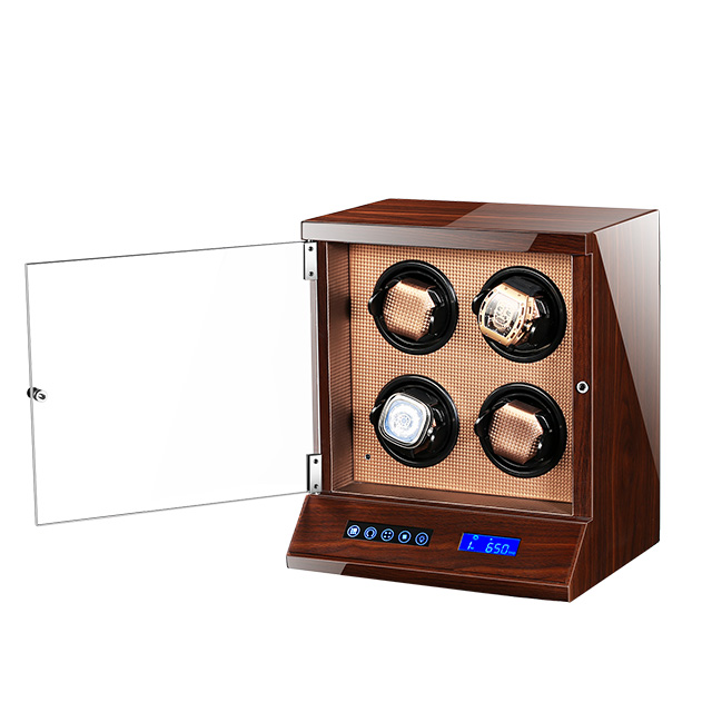 Watch Winder for automatic watches New Version Wooden Watch Accessories Box Watches Storage Luxury