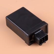 DWCX 6 Pin Black Electrical Start Ignition CDI Ignitor Module Box Fit For Euro I Version Yamaha YBR125 2002 2003 2004 цена
