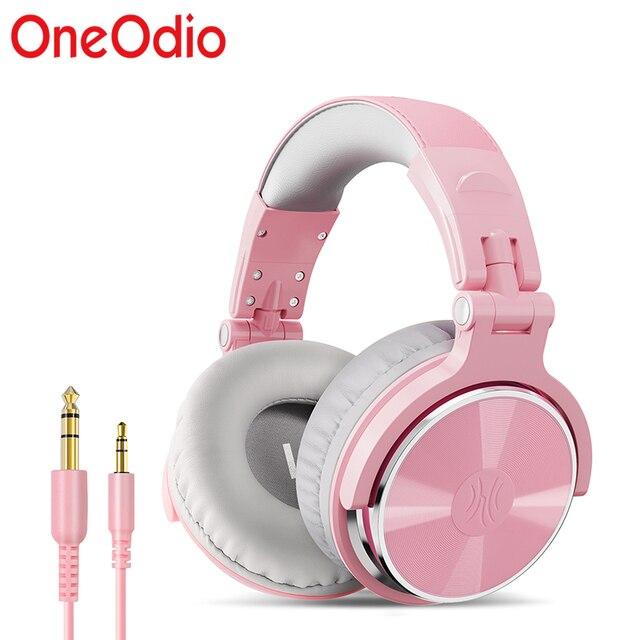 Oneodio DJ سماعة مزودة بميكروفون الألعاب Hifi سماعة DJ سماعة للهاتف عالية الجودة المهنية استوديو سماعة Hifi