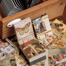 Journamm 400 шт Винтажные Ван Гог бабочки Лакмус крафт карты
