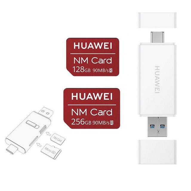 90MB/s Speed 100% Original For Huawei Mate 20/20 Pro/20X/20RS/P30/P30 Pro NM Card 64GB/128GB/256GB Nano Memory Card 4