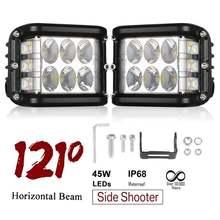 4 дюймовый светодиодный рабочий светильник 45 Вт кубический