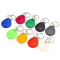 Rfid Tag Key Ring Card 100pcs/Lot 125Khz Copy Cards Rewritable T5577 EM4305 Rfid Copy Card Rewrite Keyfobs ID Card