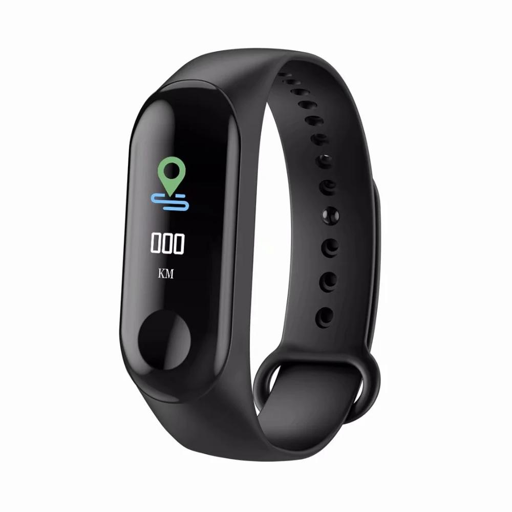 M3 Outdoor Sport Waterproof Smart Watch Wristband Bracelet For Both Android And IOS Heart Rate Monitor Fitness Tracker