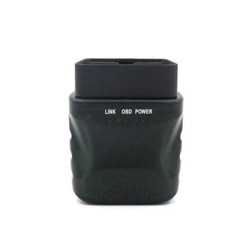 Narzędzie diagnostyczne do samochodów skaner Bluetooth narzędzie diagnostyczne do samochodów silnika kod błędu do czyszczenia obsługuje wszystkie OBD-II protokołów tanie i dobre opinie CN (pochodzenie) OBD2 10cm Analizator silnika V015 32mAh -40-80 ℃ about 57*46 2*24 2mm 2 24*1 82*0 95 inch black 1 x OBDII Scanner