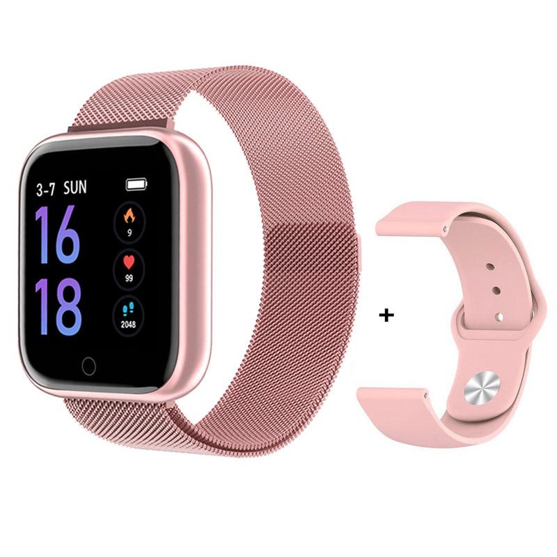 Smart Watch Men Women 1.3 inch IP67 Waterproof Sport Bracelet Blood Pressure Monitor Fitness Tracker For IOS Android Smartwatch