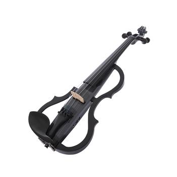Kinglos profesjonalna jakość wysokiej klasy niemiecki cień odebrać profesjonalny uczeń praktyki skrzypce elektryczne tanie i dobre opinie CN (pochodzenie) Spruce Brazil Wood Carbon Fiber Ebony SDDS-1605 Maple