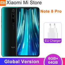 Глобальная версия Xiaomi Redmi Note 8 Pro 6 ГБ 64 Гб мобильный телефон 6,53
