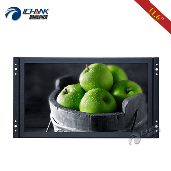 "ZK116TN-253/11.6"" 12"" inch Widescreen 1920x1080p IPS HDMI VGA Embedded Open Frame Built-in Speaker PC Monitor LCD Screen Dispaly"