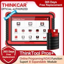 THINKCAR THINKTOOL PROS + pełny układ skanera z 28 specjalnymi serwisami programator Online/kodowanie ECU/ADAS samochodowy czytnik kodów plusy +