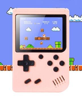 Детская игровая консоль, Встроенный 800 классических игр, 8-битная 3-дюймовая мини-ТВ портативная ретро-игровая консоль FC, Мини-Игровой Автома...