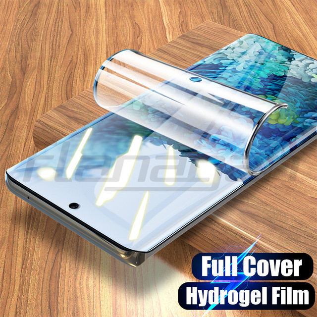 3Pcs Screen Protector For Samsung Galaxy S10 S9 S8 S20 Note 10 20 Plus Ultra Hydrogel Film For Samsung Note 8 9 S7 Edge Film