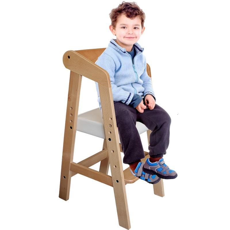 Mueble Infantiles Kids Learning Tower Wood Chaise Enfant Adjustable Baby Children Furniture Cadeira Infantil Child Chair