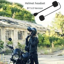 MH05 Bluetooth 5.0 Motorcycle Helmet Headset Low Energy Stereo Handsfree Micro For
