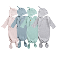 Outfits Blanket Sleeping-Bags Long-Sleeve Warm Baby-Boys-Girls Cotton Autumn Infant Solid