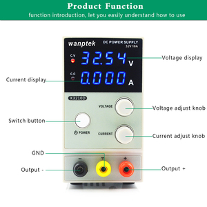 Image 5 - 30v 10a K3010D 미니 스위칭 조절 식 DC 전원 공급 장치 SMPS 단일 채널 30V 5A 가변 110V 또는 220V