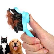 Силиконовая многофункциональная собачья расческа для кошек, щетка для волос, меховой триммер для Стрижки гребень-расческа, профессиональная расческа для удаления, гребни для собак