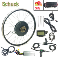 SCHUCK Elektrische Bike Conversion Kit 48V1000W Hinten RAD MIT LCD3 Display Elektrische Fahrrad Leistungsstarke Motor mit sprach und felge-in Conversion Kit aus Sport und Unterhaltung bei