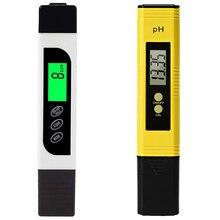Цифровой измеритель TDS и ph-метр, тестер качества воды с кнопкой автоматической калибровки, TDS PH EC температура 4 в 1 комплект, идеально подходит для Ho