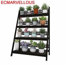 Wooden Shelves For Wood Estanteria Escalera Indoor Mueble Para Plantas Pot Balcony Flower Shelf Dekoration Rack Plant Stand