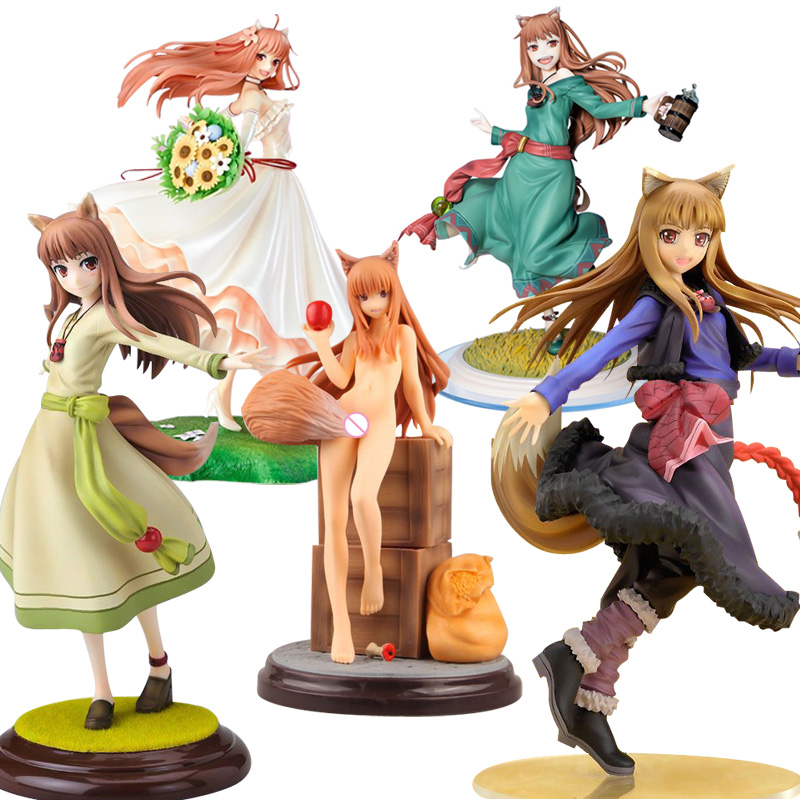 17-25cm Spice And Wolf Holo Холо Sexy Girls Action Figure Japanese Anime PVC Adult Action Figures Toys Anime Figures Toy