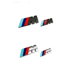 Car 3D Metal M Sport Logo Decal Sticker For BMW E90 F10 F30 F31 M2 M3 M4 M5 X1 X3 X5 3 5 7 series Car Trunk Body Emblem Stickers