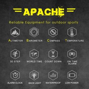 Image 5 - NORTH EDGE sportowy zegarek cyfrowy dla mężczyzn, wskazywanie godziny, tryb biegania, pływania, zegarki militarne, wojskowe, barometr, wysokościomierz, kompas, wodoodporny do 50m głębokości