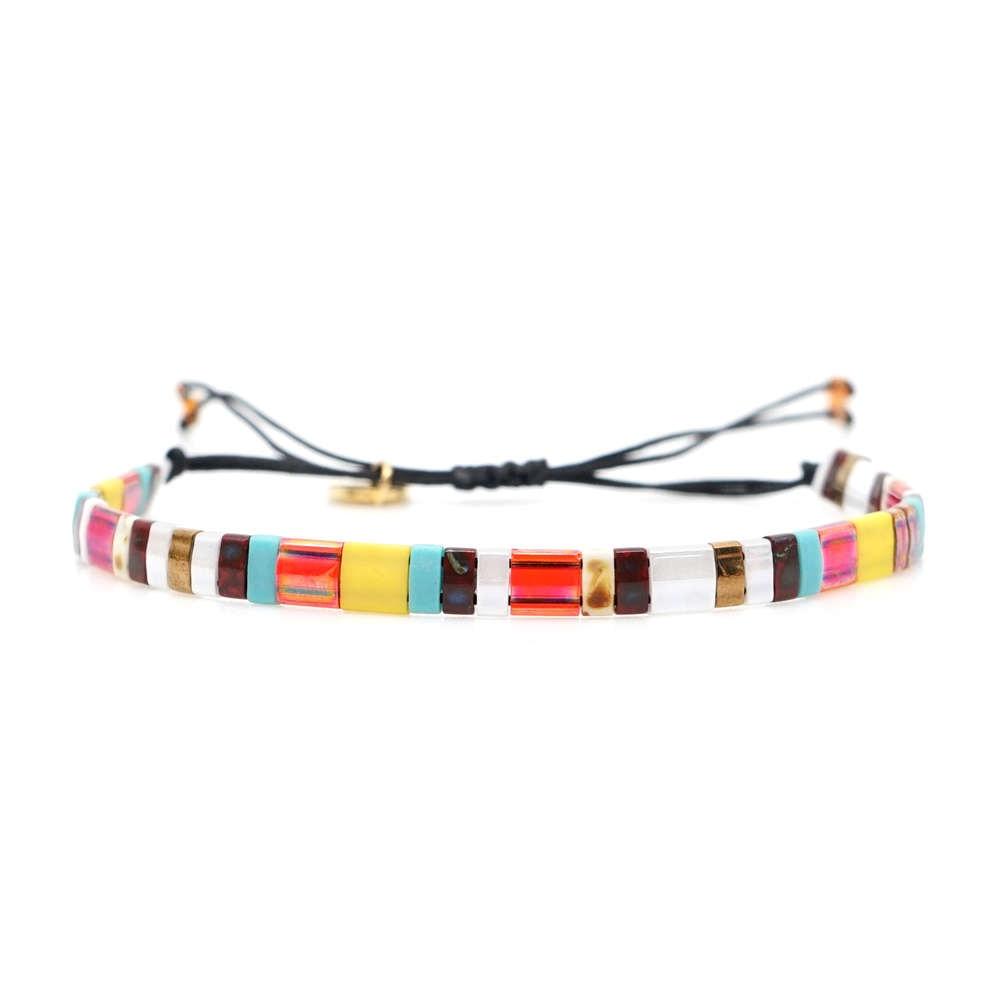 Go2boho Boho Bracelet Women Miyuki Bracelets Summer Beach Jewelry Janpan Imported Tila Beads Pulseras Mujer Femme Handmade Gift(China)