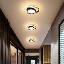 Lámpara de techo Led moderna para sala de estar, luces de pasillo, candelabro pequeño, iluminación interior