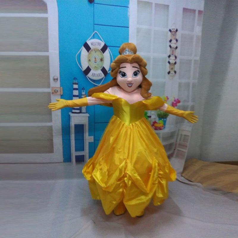 Poupée Barbie mascotte costume poupée de dessin animé