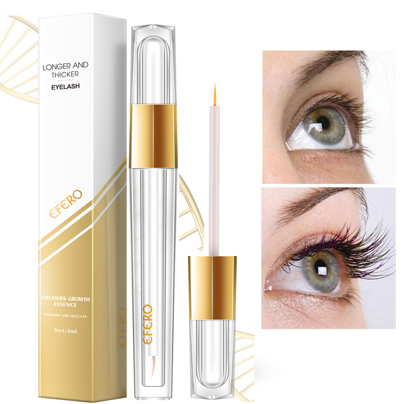 Women Eyelash Growth Serum Eye Lashes Enhancer Powerful Eyelash Extension Natural Curling Longer Thicker Eye Lash Essence TSLM2