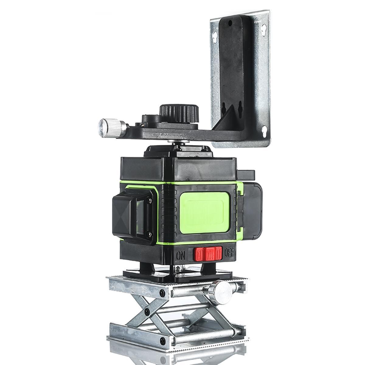 Лазерный уровень, 12 линий, уровень 3D, самонивелирующийся, вращающийся на 360 градусов, горизонтальный и вертикальный крест, синий лазерный уровень с пультом дистанционного управления