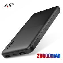A.S Power Bank 20000mah Fast Charger Portable External Batte