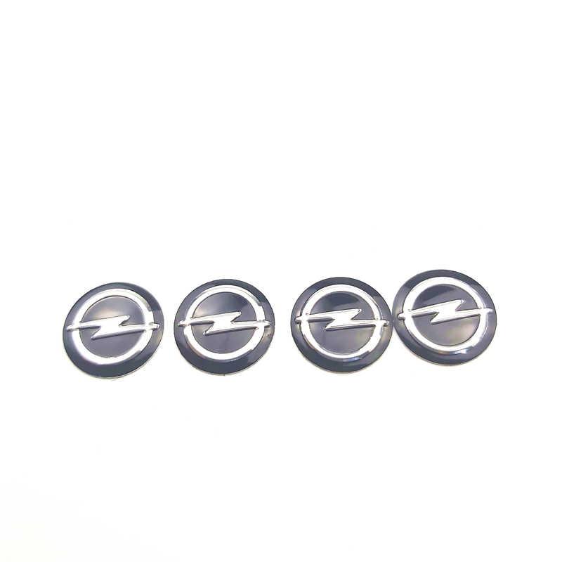 5 uds 14mm pegatina para llave de coche emblema logotipo para VW Mitsubishi benz audi toyota Hyundai Chevrolet Ssangyong vw skoda seat leon