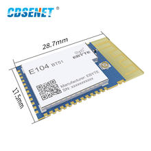 E104-BT51 CC2640R2F 2.4GHz IoT Bluetooth Module BLE5.0 IO Port UART SMD Transmitter and Receiver