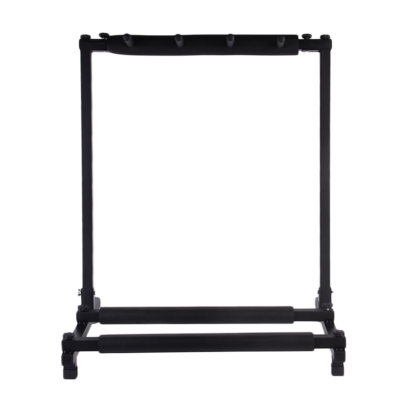 3 Piece Guitar Stable Multiple Folding Display Universal Guitar Stand Bass Holder