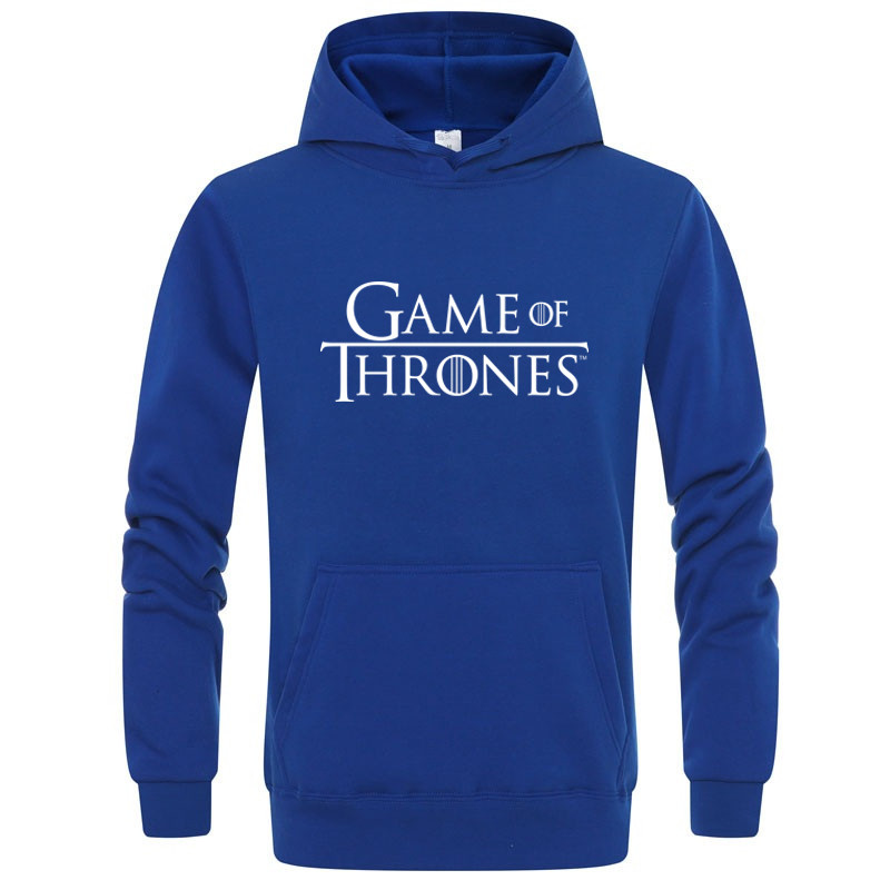Winter Men/women  Hoodies Game Of Thrones Letter Printed Shirt Hoodie Mens Street Clothing Warm Top куртка мужская толстовка