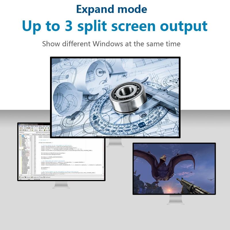 Station d'accueil Type c aluminium 11 en 1 vers lecteur de carte HDMI RJ45 PD pour chargeur Audio MacBook Samsung Galaxy USB c Hub - 4