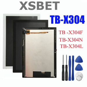 "For 10.1"" Lenovo Tab 4 TB-X304L TB-X304F TB-X304N/X X304 LCD Display Matrix Module + Touch Screen Panel Digitizer Assembly(China)"