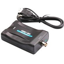 NTSC Цифровой композитный Мини Мультимедийный USB порт видео конвертер PAL сигналы аксессуары коммутатор коробка аудио адаптер HDMI к BNC
