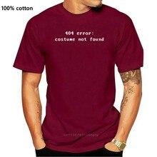 Imprimé hommes T-Shirt coton T-Shirt erreur de Costume 404 col rond à manches courtes femmes T-Shirt