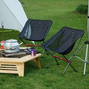 Image 5 - Krzesło Naturehike lekkie kompaktowe przenośne składane krzesło plażowe składane krzesło piknikowe składane krzesło kempingowe