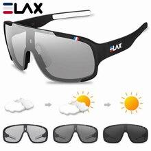 Gafas de ciclismo ELAX polarizadas y fotocromáticas gafas de ciclismo al aire libre gafas de sol deportivas para hombres y mujeres gafas de bicicleta Mtb