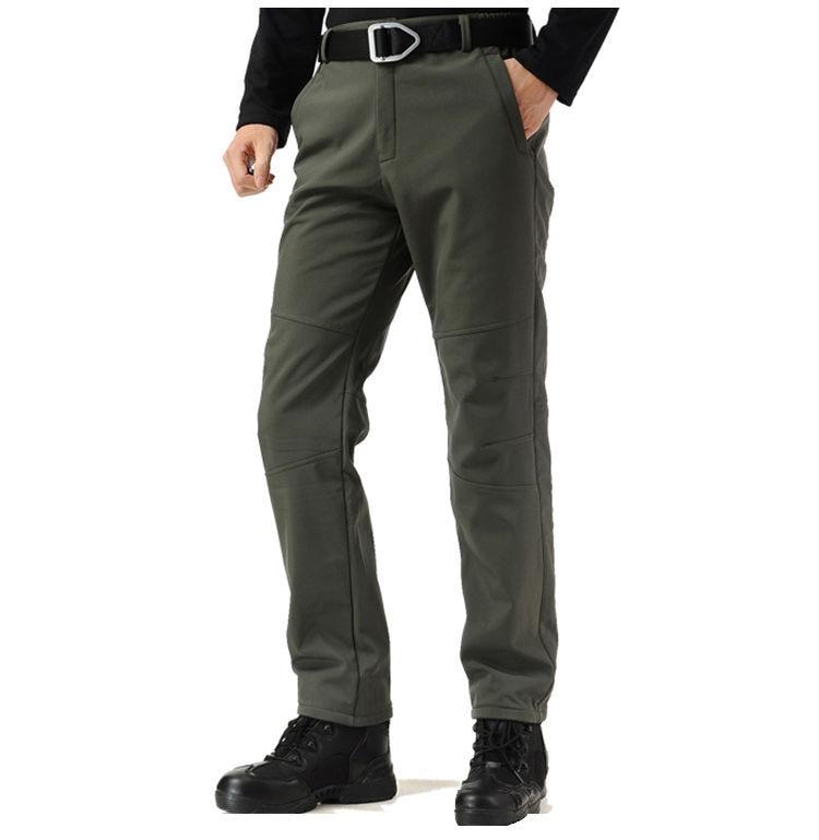На открытом воздухе штурм штаны мужчины% 27 лыжи штаны ветрозащитный альпинистский водонепроницаемый теплый штаны мягкий оболочка штаны боевые штаны быстросохнущие