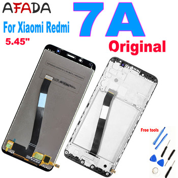 100% Original 5.45'' for Xiaomi Redmi 7A LCD Display Touch Panel Digitizer Assembly Screen Glass Sensor Parts for myphone hammer energy lcd display touch screen original lcd glass digitizer assembly repair parts